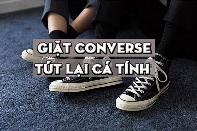 9242ffceea45 3 bước 5 cách tuyệt vời để làm vệ sinh giày Converse